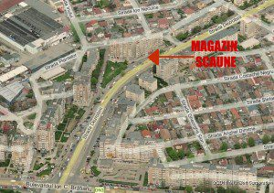 Harta magazin scauneonline.ro