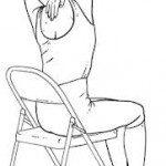 stretching umar pentru a contracara efectele statului in scaunul de birou prea mult timp
