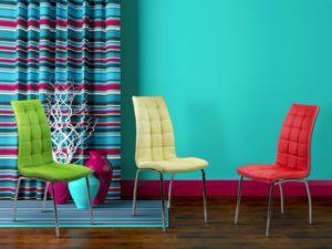 scaune de bucatarie pentru un open space modern