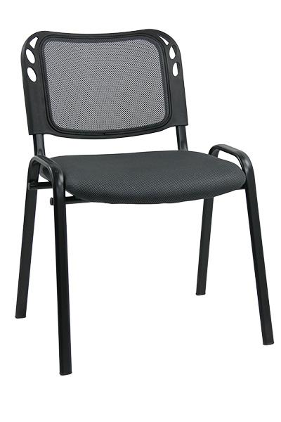 scaun de conferinta cu cadrul clasic cu patru picioare