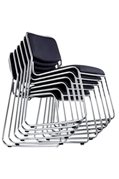 scaune de conferinta cu dimensiuni reduse  si suprapozabile